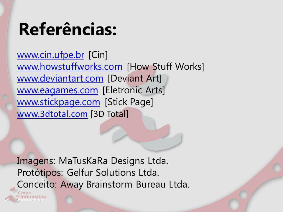 Referências: www.cin.ufpe.br [Cin]